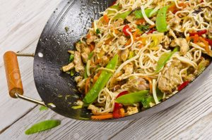 15035188-Asian-noodles-with-meat-Stock-Photo-wok-noodles-thai