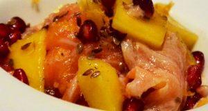 crudite-di-salmone-insalata-di-mango-melograno-agli-agrumi-e-tabasco-verde