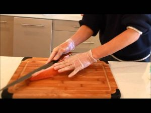 sashimi preparazione