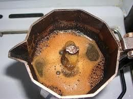 Caffè fatto con la Moka