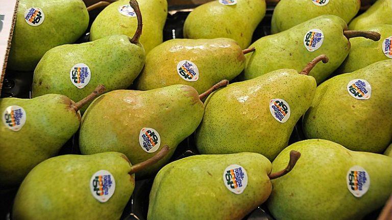 pere IGP, frutta