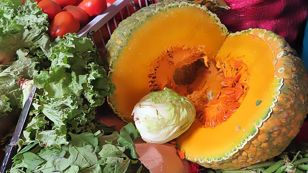Le verdure di stagione di Febbraio