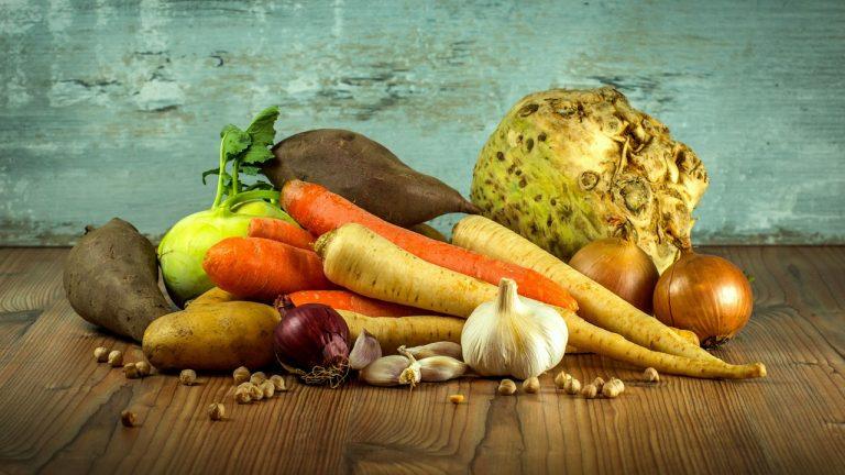 le verdure di stagione di Ottobre
